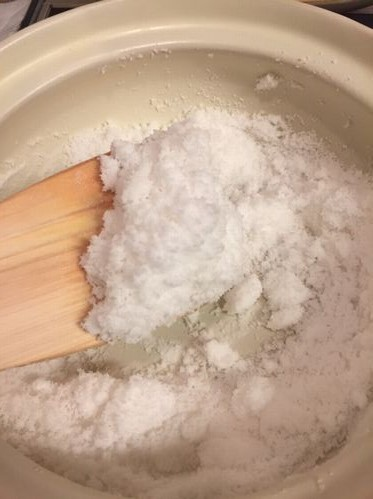 海水から作った塩