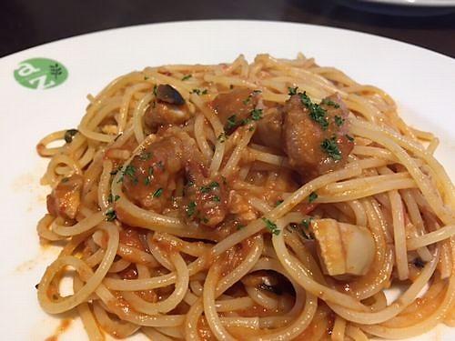 AZランチ パスタ トマトソース