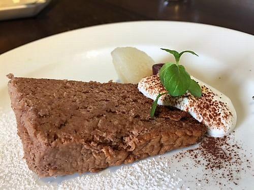 AZランチ ドルチェ チョコケーキ