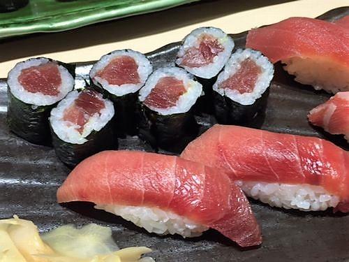 富寿司 長岡駅前店 まぐろ三昧セット02
