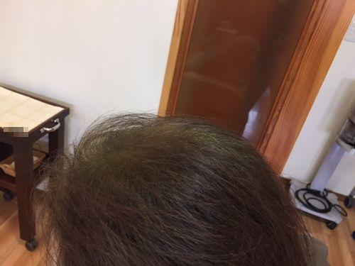 長岡市 ハナヘナ白髪染め02