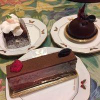 ロンドレットバウム チョコレートケーキ