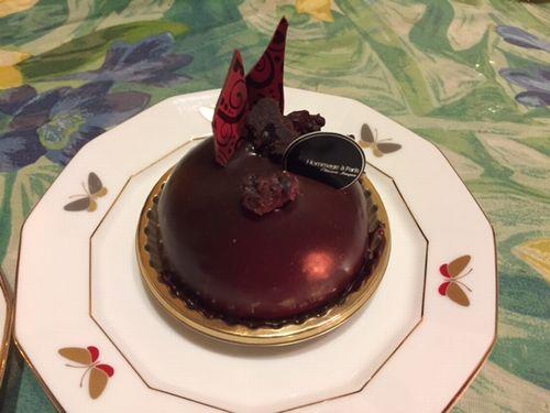 ロンドレットバウム チョコレートケーキ02