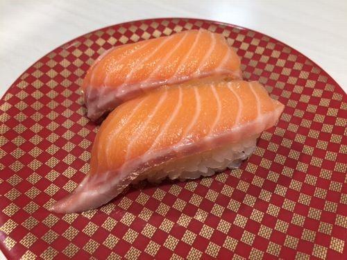 魚べいリップス旭岡店 ノルウェー産生サーモン