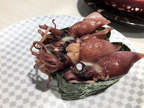 魚べいリップス旭岡店 ほたるいか