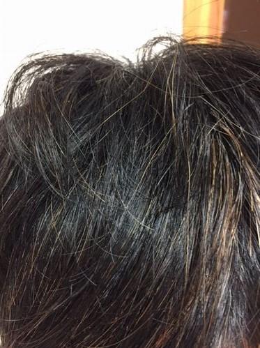 湯シャン生活1年5か月目の素髪