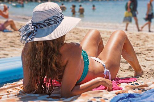 髪の紫外線保護にハナヘナが有効