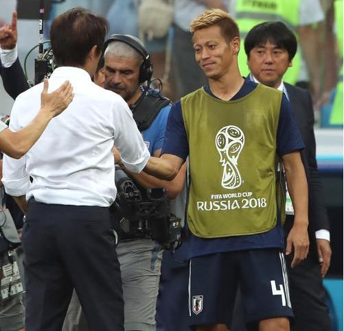 日本代表決勝T進出 持っている2人