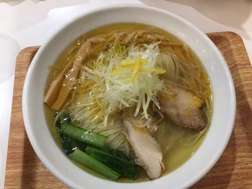 曙 鶏蕎麦かかし 鶏塩蕎麦