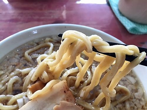 鬼にぼ 中華そば 麺リフト