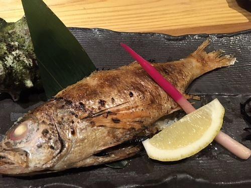 のどぐろ 焼き魚
