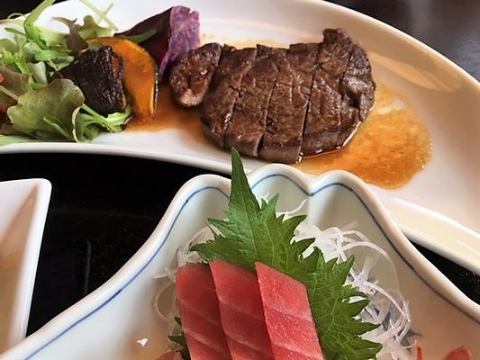 日本料理胡蝶 フィレステーキ