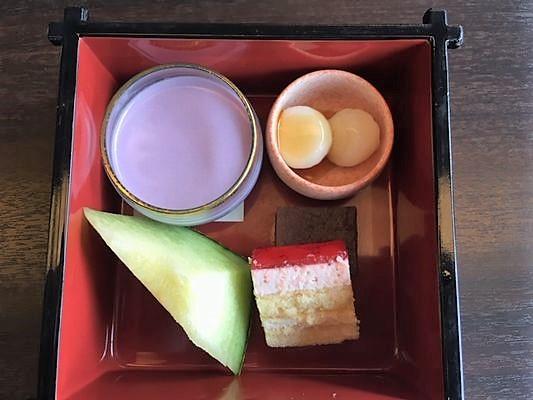 日本料理胡蝶 デザート