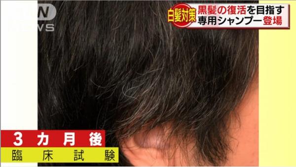 黒髪復活シャンプー!?