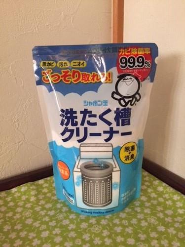 シャボン玉石けんの洗たく槽クリーナー