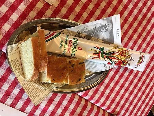 上越市 ラペントラッチャ 自家製パン