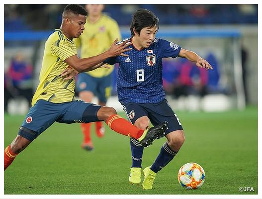 日本0-1コロンビア