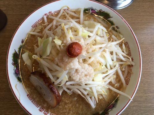 のろし長岡宮内店 味噌 肉1枚