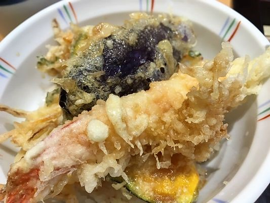 海老天丼(小)