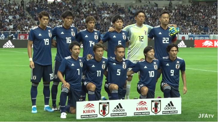 日本6-0モンゴル 出場メンバー(先発)