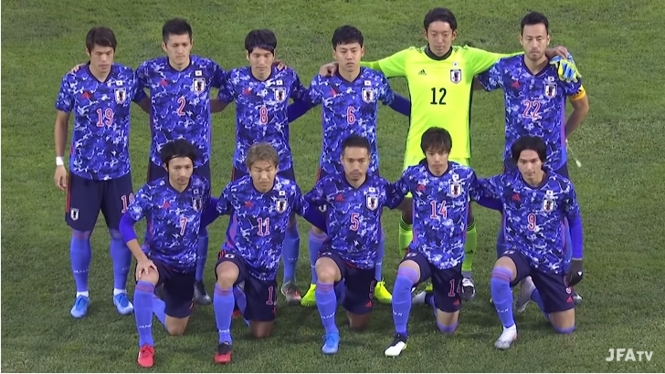 キルギス0-2日本 出場メンバー