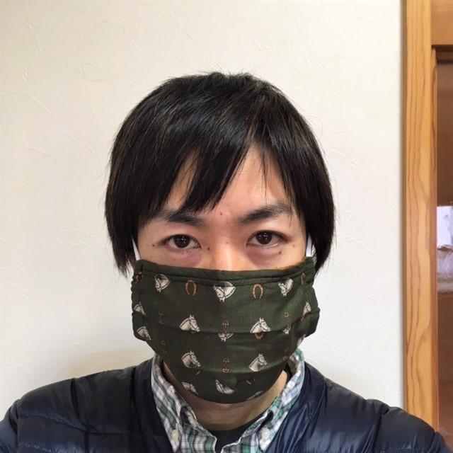 布マスク装着時