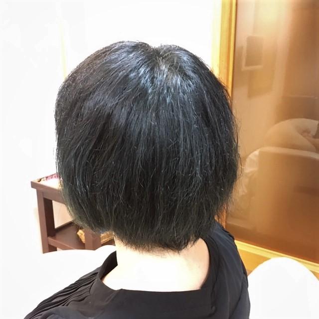 ハナヘナ染め+ニュートラル(アワル)