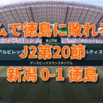 J2第20節 新潟0-1徳島