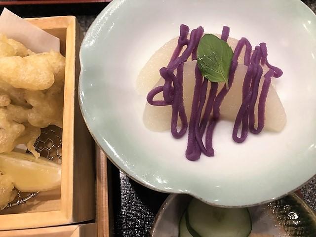 梨のデザート