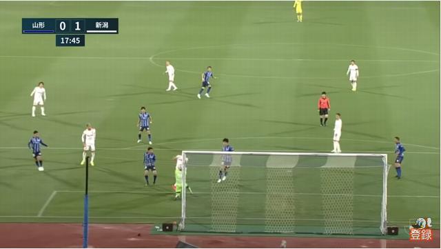 18分、1得点目 矢村がリーグ初得点!