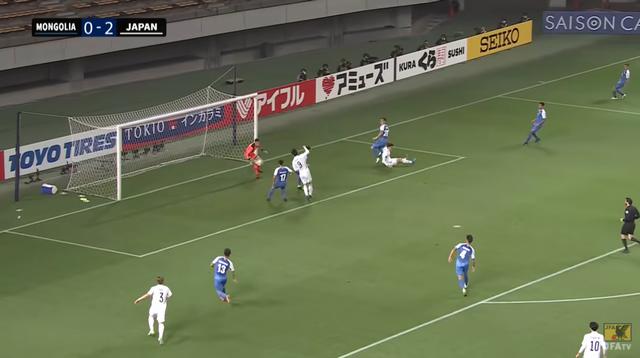 26分、3得点目 MF鎌田のオシャレゴールっ!
