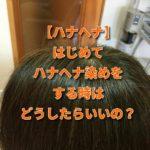 【ハナヘナ】はじめてハナヘナ染めをする時はどうしたらいいの?
