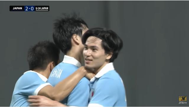 【日本代表】 サッカー日本代表、 世紀の決戦!? 日本代表×日本代表  A代表 3-0 U-24代表