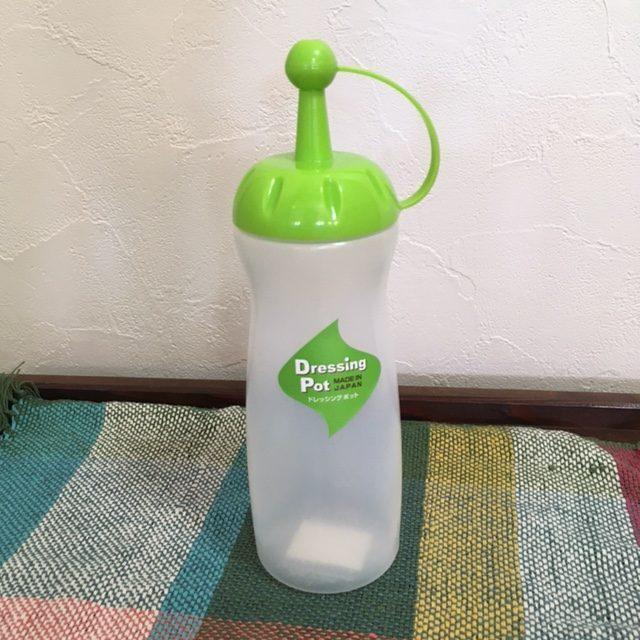 セリアのドレッシングボトル