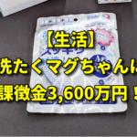 【生活】洗たくマグちゃんに課徴金3,600万円!